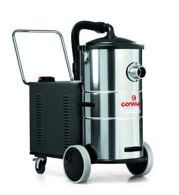 三相电源驱动工业真空吸尘设备