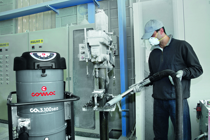 单相工业真空吸尘器