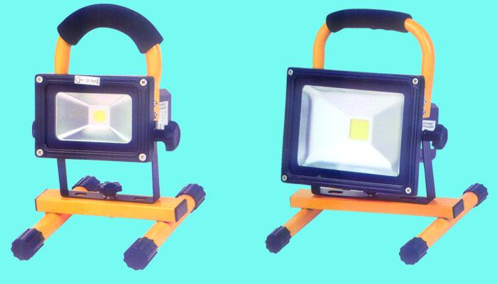 可移动充电式LED灯